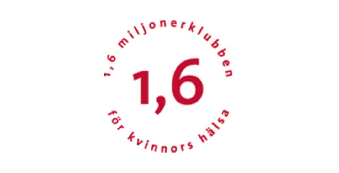 1,6 miljonerklubben för kvinnors hälsa