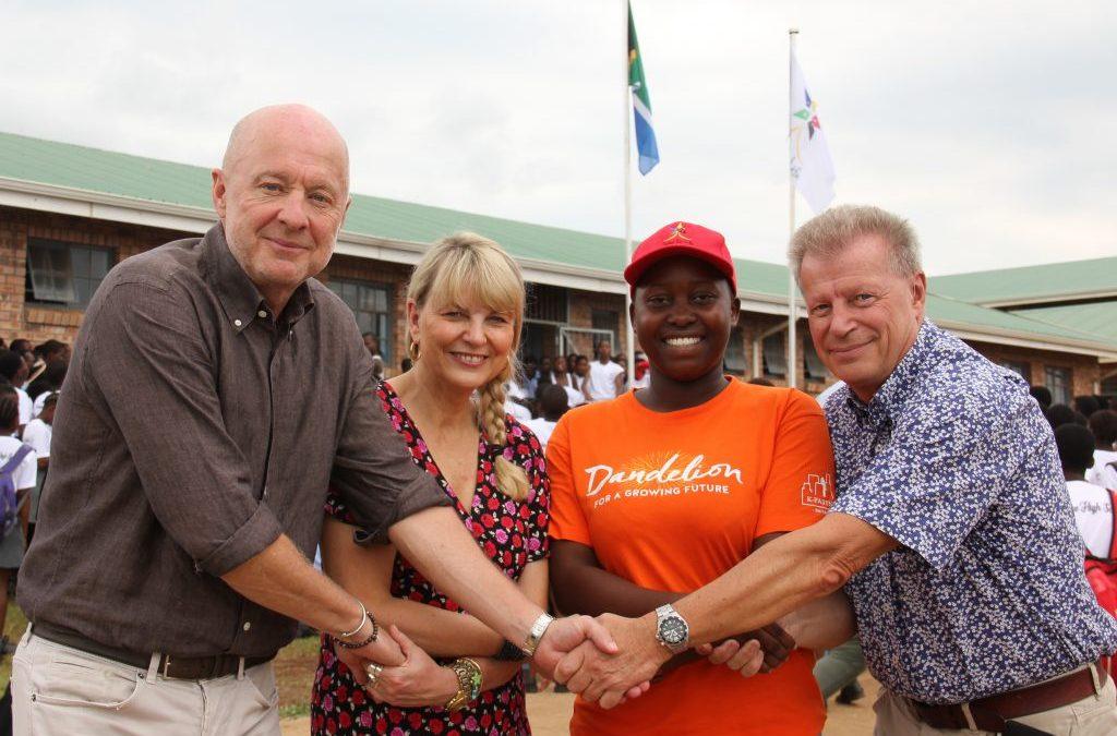 Fadderprojektet Dandelion blir en del av Star for Life