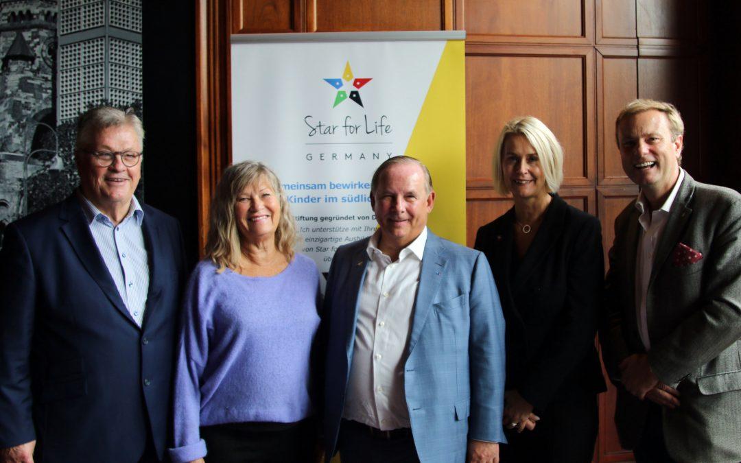 Dr. Jörg Mosolf establishes Star for Life Germany